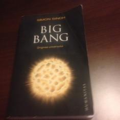 SIMON SINGH, BIG BANG, ORIGINEA UNIVERSULUI
