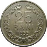 ROMANIA, 25 BANI 1955 * cod 48.4, Cupru-Nichel