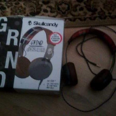 Casti SkullCandy, Casti On Ear, Cu fir, Mufa 3, 5mm