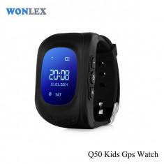 Ceas Copii cu GPS Dublu Locatie LBS,Localizare, SOS,SIM GSM,Functie Ritm Cardiac, Alte materiale, Tizen Wear, Apple Watch