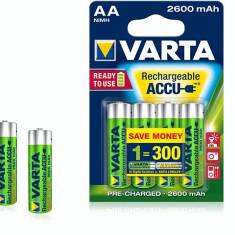 Acumulator AA 1.2V 2600mAh 4buc Varta - Baterie Aparat foto
