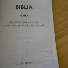 BIBLIA FIDELA - 2010