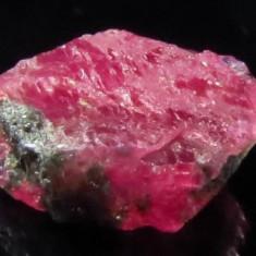 Rubin NATURAL bicolor rosu-albastru in acelasi cristal BRUT 2,52 ct. -netratat