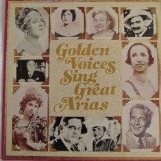 Golden voices singt great arias - vinyl - Muzica Opera Altele, VINIL