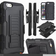 Carcasa tip holster rezistenta la socuri pentru Samsung Galaxy S4 Mini 9195