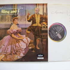 Disc vinil Sound track of the motion picture THE KING AND I (Capitol Records) - Muzica soundtrack Altele