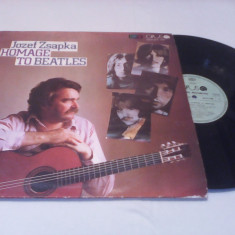 DISC VINIL JOZEF ZSAPKA HOMAGE TO BEATLES 1987 STARE FOARTE BUNA