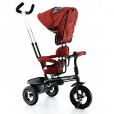 Tricicleta EURObaby cu scaun rotativ T306E - Rosu - Tricicleta copii