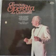 Famous Operetta - Vaclav Neumann - Muzica Opera Altele, VINIL
