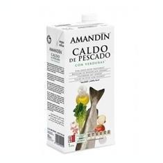 Supa de Peste cu Legume Amandin 1L Cod: 400019 - Bacanie