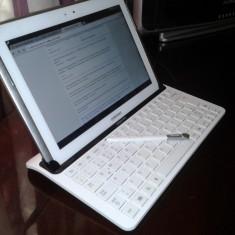 Tableta Samsung Galaxy Note 10.1 N8000 plus tastatura OPV - Tableta Galaxy Note 10.1 Samsung, 16 GB, Wi-Fi + 3G