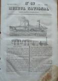Muzeu national ; gazeta literara si industriala , nr. 17 , 1836 , 2 gravuri