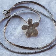 Medalion argint MARGARETA splendid Finut Delicat vintage Superb pe Lant argint - Pandantiv argint