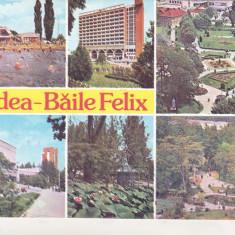Bnk cp Oradea - Baile Felix - Vedere - circulata - Carte Postala Crisana dupa 1918, Printata