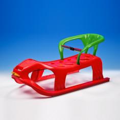 Sanie din plastic cu spatar