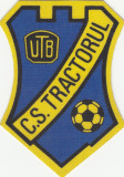 Ecuson textil C.S.Tractorul Brasov, anii '80