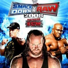 Smackdown Vs Raw 2008 Nintendo Wii - Jocuri WII Thq, Sporturi, 16+