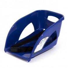Spatar din plastic pentru sanie, albastru