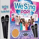We Sing Pop Bundle (With 2 Mic) Nintendo Wii - Jocuri WII, Simulatoare, 12+