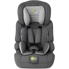 Scaun de masina Kinderkraft Confort Ap grii 9-36 Kg - Scaun auto copii, 1-2-3 (9-36 kg)