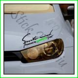Sticker Far-Sports Mind-Vw Scirocco_Tuning Auto_Cod: FAR-021_Dim: 25 cm. x 9.