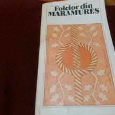 VASILE T DONIGA - FOLCLOR DIN MARAMURES - Carte traditii populare