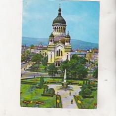 Bnk cp Cluj Napoca - Catedrala ortodoxa - circulata - marca fixa - Carte Postala Transilvania dupa 1918, Printata