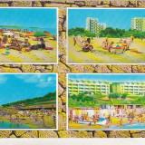 Bnk cp Litoral - Vederel - circulata - Carte Postala Dobrogea dupa 1918, Printata