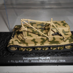 Macheta tanc Bergepanzer - Anzio - 1944 scara 1:72 - Macheta auto