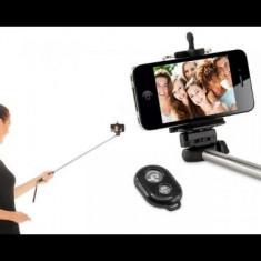 Selfie stick cu telecomanda