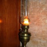 Lampa veche /antica functionala deosebita pt decor/ colectie LEMPEREUR & BERNARD