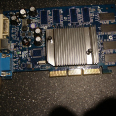 Placa video AGP Nvidia FX5200 128Mb /testata /functionala - Placa video PC