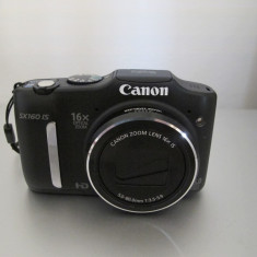 Aparat foto digital Canon PowerShot SX160 IS, 16MP, Black - Aparat Foto Canon PowerShot SX160 IS