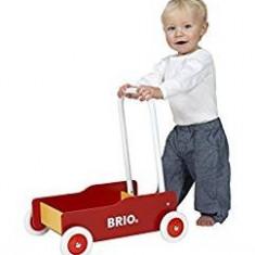 Carucior din lemn pentru copii, Brio