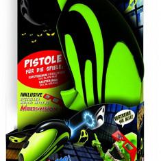 Pistol pentru jocul vanatoarea de fantome, Evolution Megableu, Hasbro