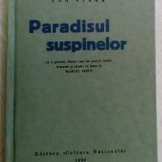 ION VINEA-PARADISUL SUSPINELOR/5 GRAVURI MARCEL IANCU(reproducerea editiei 1930)