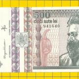 Bancnota 500 lei 1992 cu filigran fata