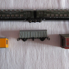 Machete feroviare - Macheta Feroviara Alta, 1:87, TT, Vagoane
