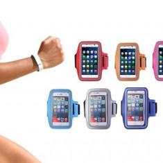 Husa telefon iPhone si Samsung Galaxy din neopren pentru activitati sportive, diverse culori