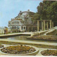 Bnk cp Constanta - Restaurantul Cazino - circulata - Carte Postala Dobrogea dupa 1918, Printata