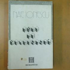 Nae Ionescu Curs de metafizica Bucuresti 1991