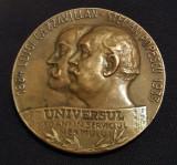 Medalie ziarul Universul interbelica - 1933