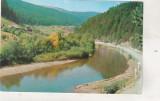 Bnk cp Valea Bistritei linga Vatra Dornei - Vedere - circulata, Printata