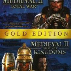 Medieval Ii Total War Gold Edition Pc - Jocuri PC Sega, Strategie, 12+