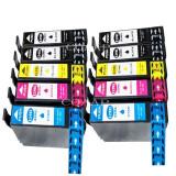 Set de 10 cartuse Epson 4 buc T1291, 2 buc T1292, 2 buc T1293, 2 buc T1294