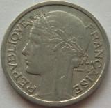 Moneda 1 Franc - FRANTA, anul 1947 *cod 516 Allu., Europa, Aluminiu