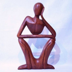 Statueta lemn 30 cm - Arta din Africa