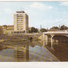 Bnk cp Oradea - Vedere - uzata - Carte Postala Crisana dupa 1918, Circulata, Printata