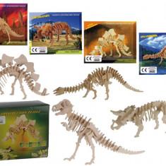 Puzzle din lemn, schelet de dinozaur HolzPuzzle - Vehicul