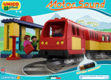 Unico set tren cu baterii
